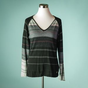 Smartwool M Sulawesi Stripe Merino Wool Sweater